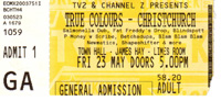 True Colours Ticket
